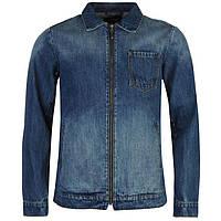 Мужская джинсовая куртка Firetrap Harriden Jacket синяя оригинал J0004/04