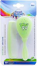 Щітка для волосся Canpol тверда 2/419 салатова