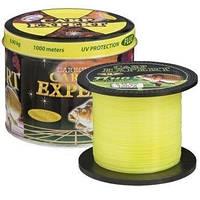 Леска Carp Expert UV Fluo Желтая Energofish 1000м 0.35mm 14.9 кг