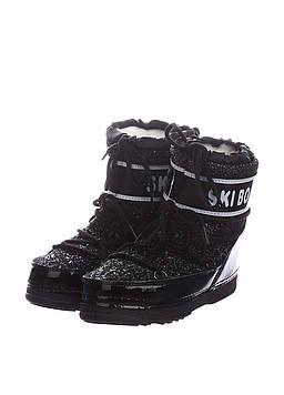 Ботинки Boots 38-39 черный (D117_Black)