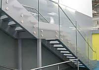 Стеклянные ограждения, перила из стекла на заказ