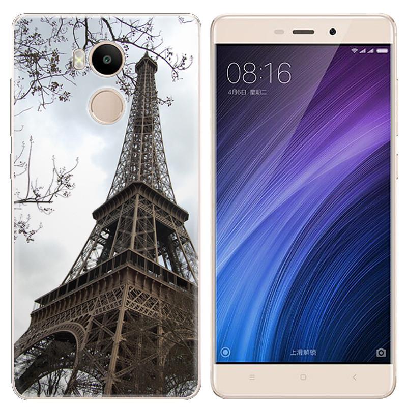 Чохол-накладка TPU Image Paris для Xiaomi Redmi 4 Prime