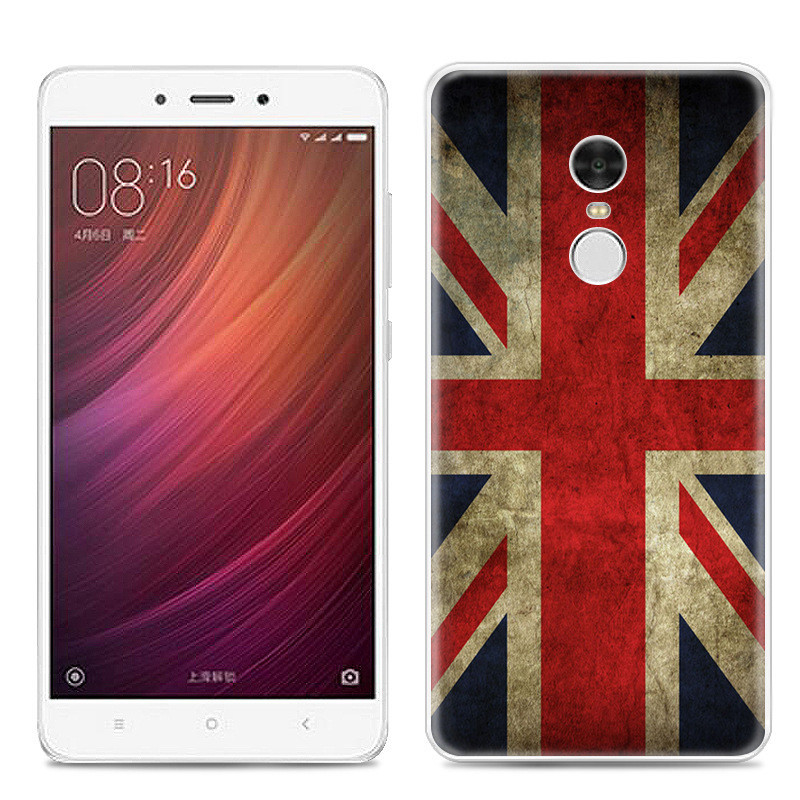 Чехол-накладка TPU Image British Flag для Xiaomi Redmi Note 4