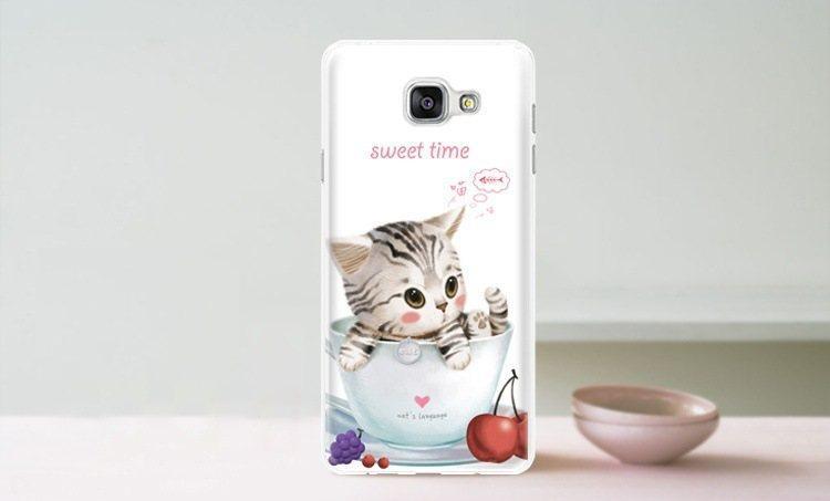 Чохол-накладка TPU Image Sweet time для Samsung Galaxy A5 2016/A510