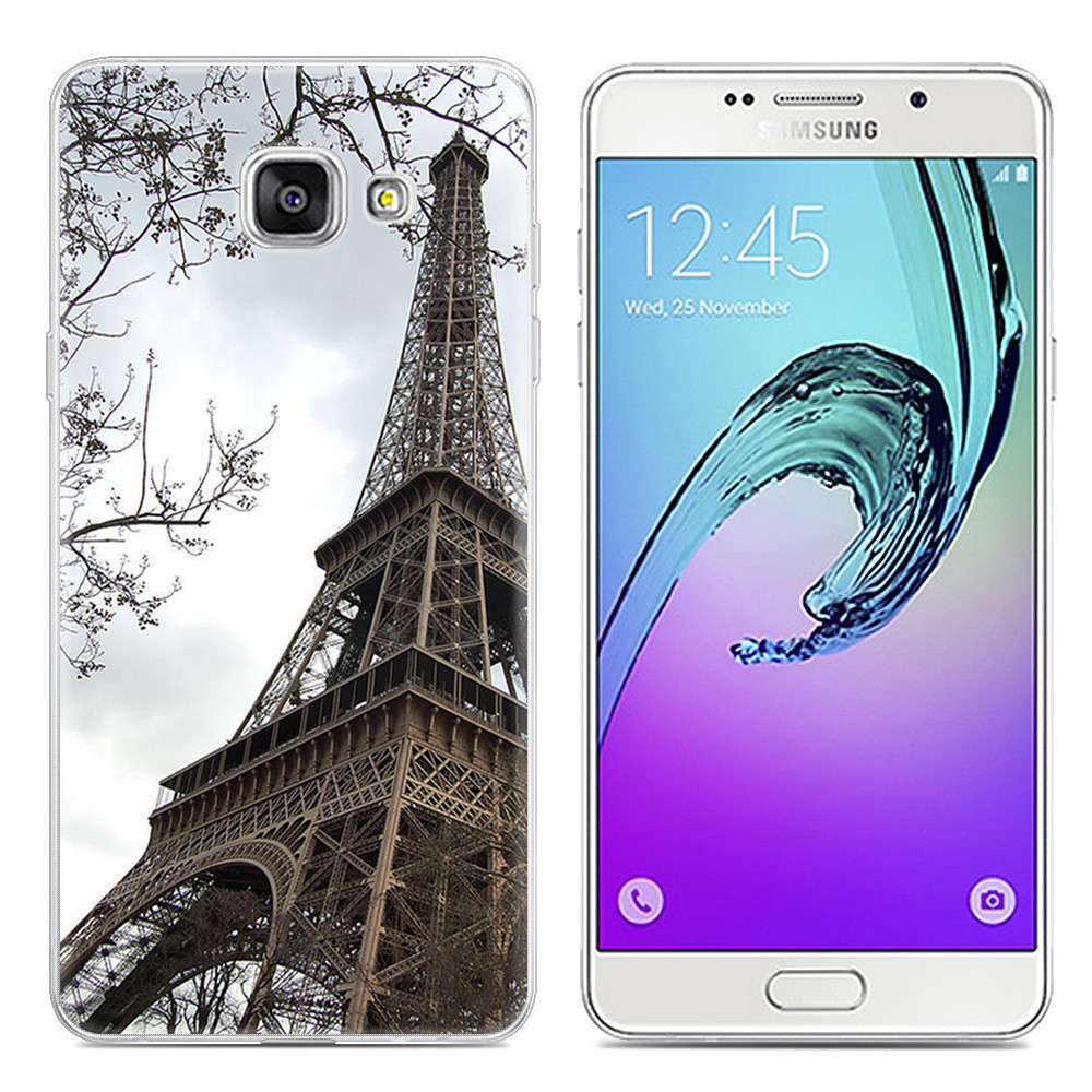 Чохол-накладка TPU Image Paris для Samsung Galaxy A5 2017/A520