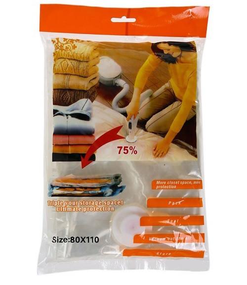 Вакуумные пакеты для хранения вещей Vacuum bags 80*110