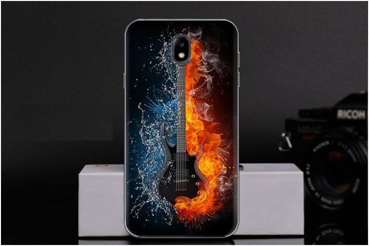 Чехол-накладка TPU Image Guitar для Samsung Galaxy J7 2017/J730