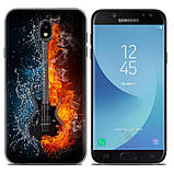 Чохол-накладка TPU Image Guitar для Samsung Galaxy J7 2017/J730, фото 2