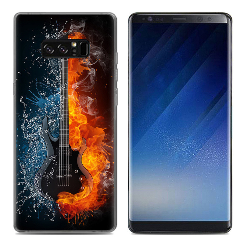 Чехол-накладка TPU Image Guitar для Samsung Galaxy Note 8/N950