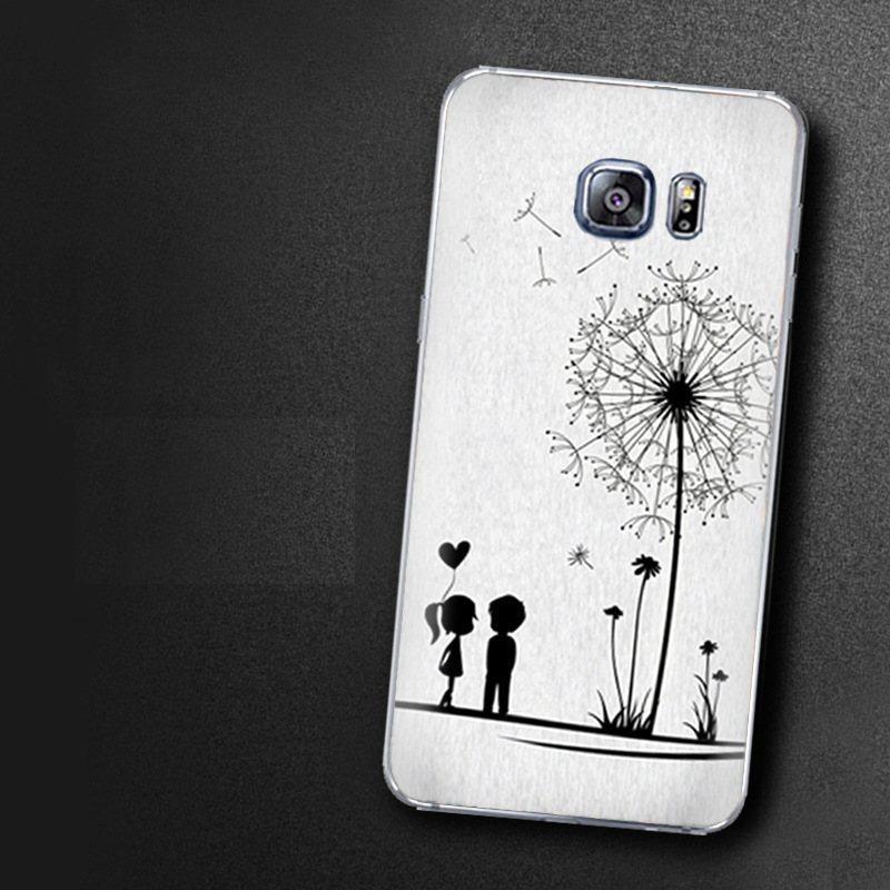 Чехол-накладка TPU Image Dandelion для Samsung Galaxy S6 Edge+/G928