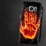 Чехол-накладка TPU Image Fire hand для Samsung Galaxy S7 Edge/G935, фото 2