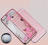 Чехол силиконовый TPU Glaze rose gold для iPhone 6/6S, фото 2