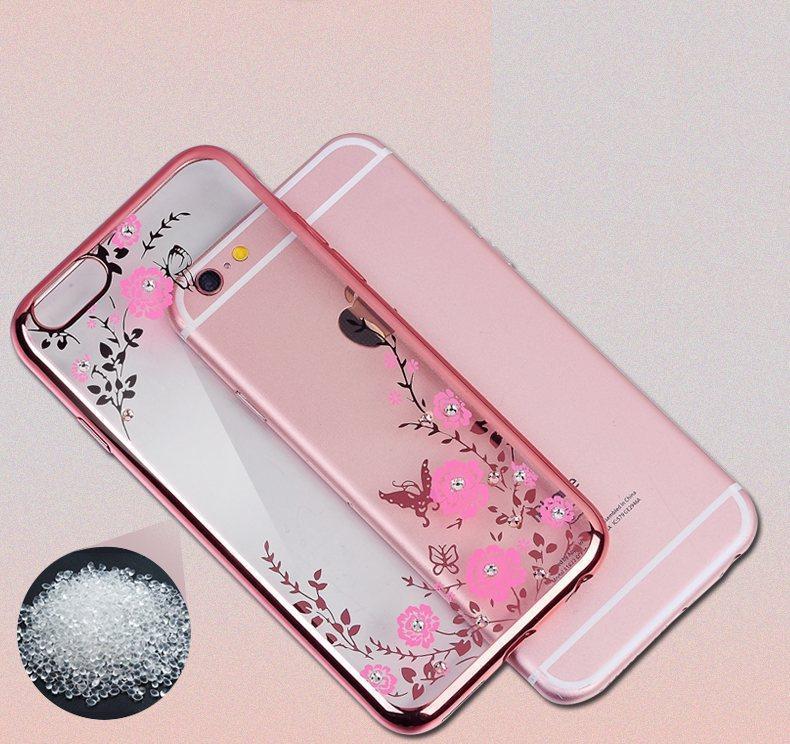 Чохол силіконовий TPU Glaze rose gold для iPhone 7/8