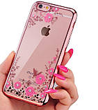 Чохол силіконовий TPU Glaze rose gold для iPhone 7/8, фото 2