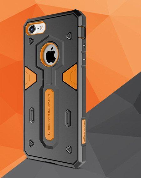 Защитный чехол Nillkin Defender 2 black-orange для Apple iPhone 7 / 8