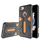 Защитный чехол Nillkin Defender 2 black-orange для Apple iPhone 7 / 8, фото 6