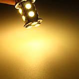 Лампы Стоп Габарит Задний ход 1156/1157 Ba15s P21W 13 LED (теплый белый), фото 4