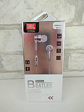 Навушники гарнітура JBL S700/E303 репліка silver