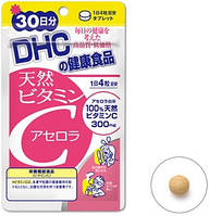 Повышение Иммунитета DHC Натуральный витамин С из ацеролы (120 шт.)