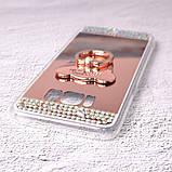 Чехол-накладка TPU Luxury Bear rose gold для Samsung Galaxy S8 (G950), фото 4
