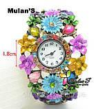 Годинники жіночі браслет Mulan'S Fashion, фото 2