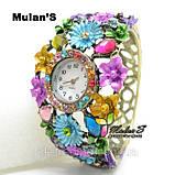 Годинники жіночі браслет Mulan'S Fashion, фото 4