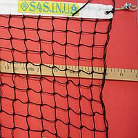 Сетка для тенниса «ТРЕНИРОВОЧНАЯ» черно-белая 69ac291b71992