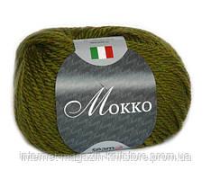 Пряжа Сеам Mokko Зеленый
