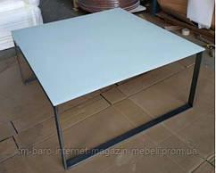 Стол журнальный BRIGHTON S (89.5*89.5*45 см) белый, Nicolas
