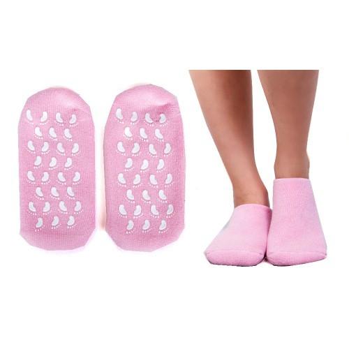 """Носки с силиконовой подкладкой (увлажняющие Spa носки) """"Naomi"""""""