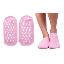"""Шкарпетки з силіконовою підкладкою (зволожуючі Spa шкарпетки) """"Naomi"""""""