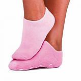 """Шкарпетки з силіконовою підкладкою (зволожуючі Spa шкарпетки) """"Naomi"""", фото 2"""