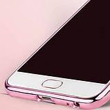 Чехол силиконовый TPU Glaze rose gold для Meizu Pro 6, фото 5