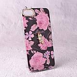 Чехол-накладка TPU Luxury Roses для iPhone 6 / 6S, фото 3