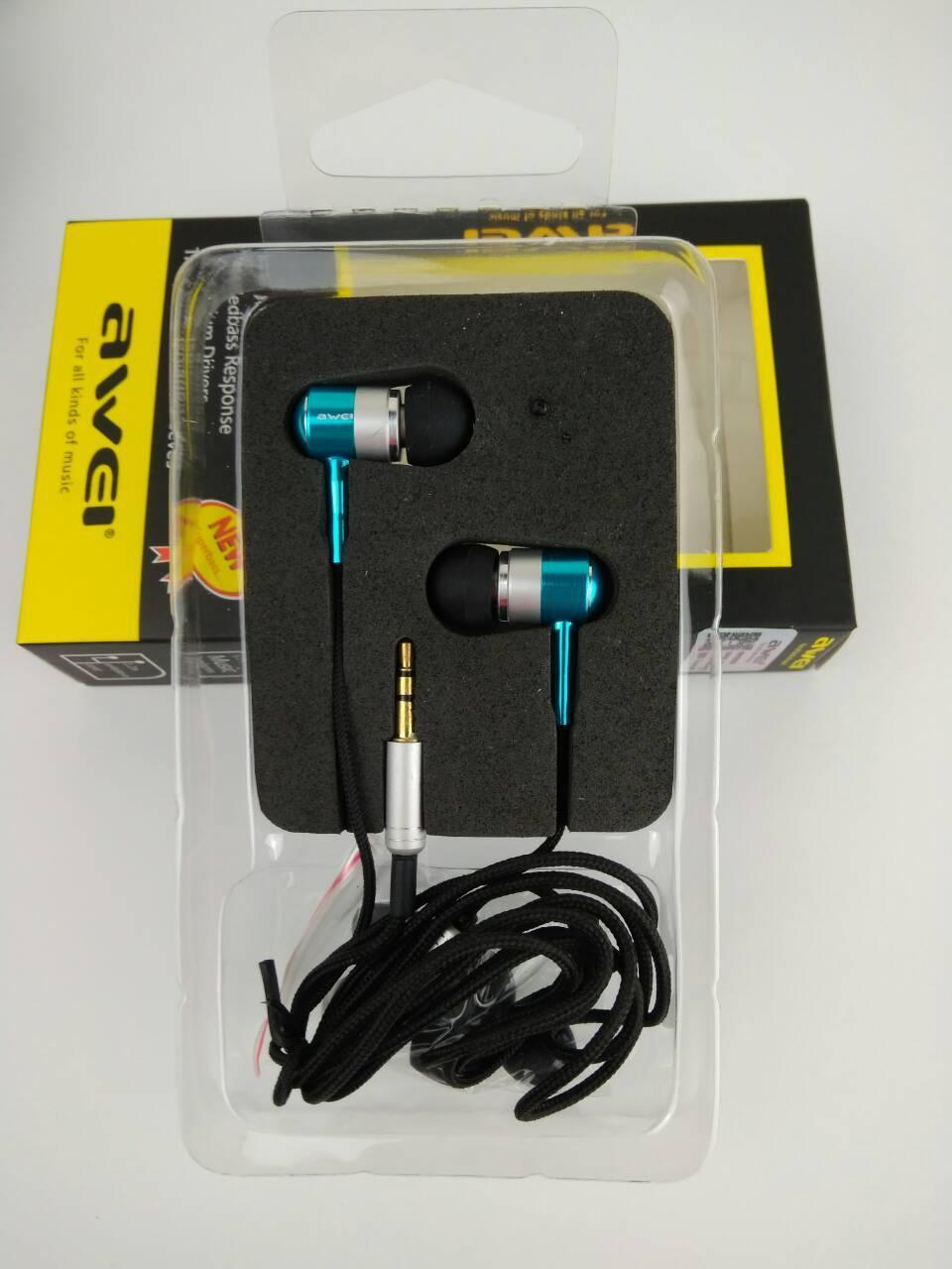 Навушники Awei Q3 blue
