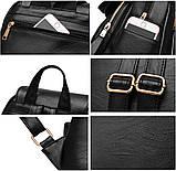 Рюкзак городской женский Ginger Lite black, фото 5