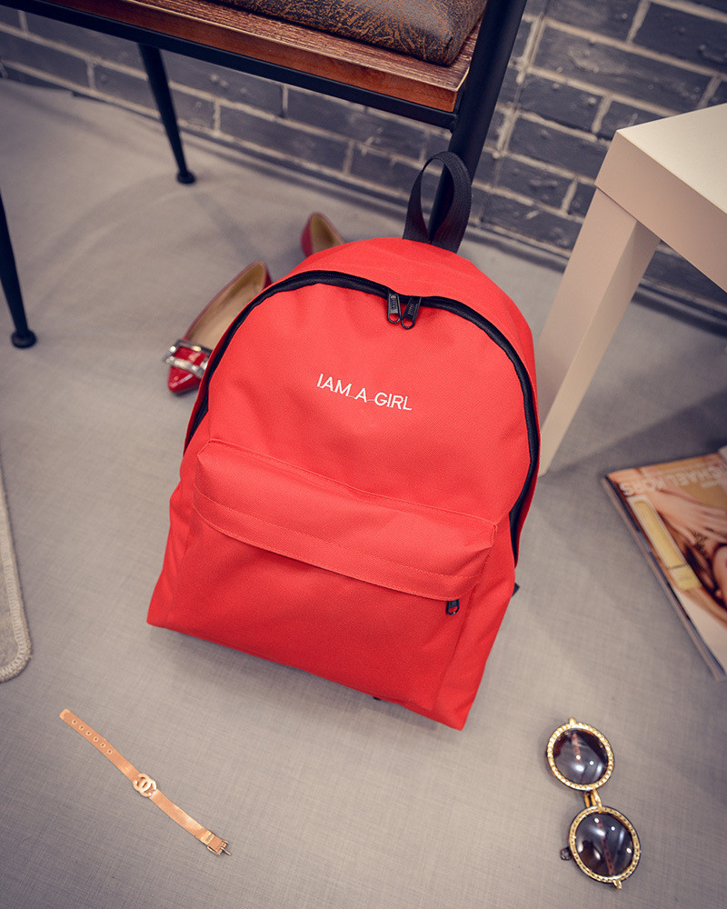 Рюкзак городской Emmi red