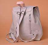 Рюкзак городской женский Moments gray, фото 2