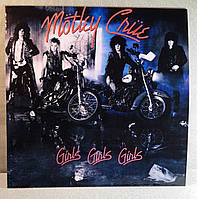 CD диск Motley Crue - Girls Girls Girls