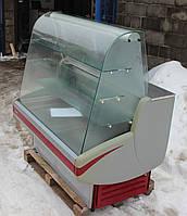 Холодильная витрина кондитерская «Cryspi Gamma» 1,4 м. (Россия), широкая выкладка 76 см., Б/у, фото 1