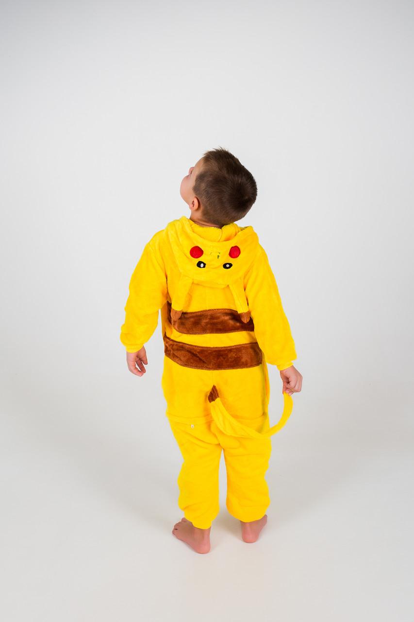 Детские пижамы Кигуруми Пикачу 120  продажа 066cbdda3a8fb