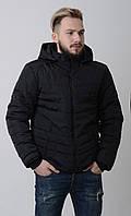 Куртка мужская весенняя комуфляж Aziks м-067 черная 48