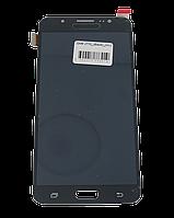 Экран + сенсор (модуль) для Samsung Galaxy J7 (J710) (2016) чёрный с регулировкой подсветки