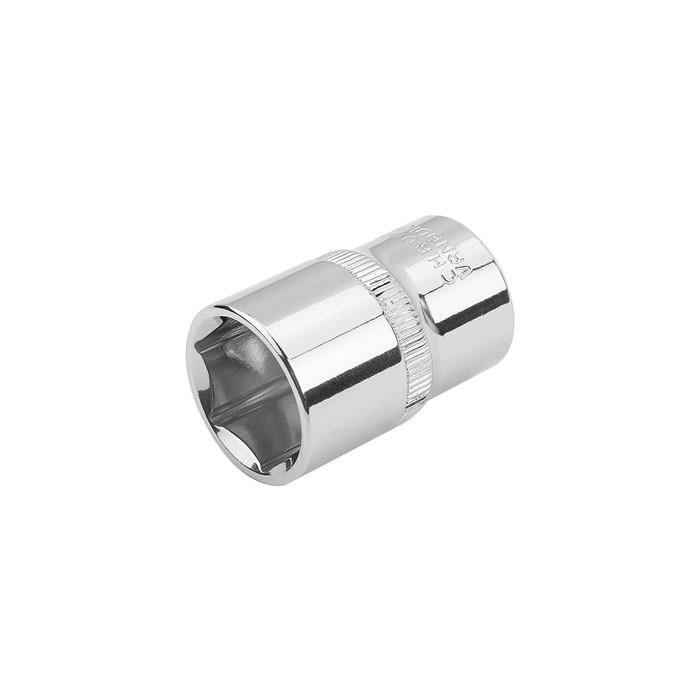 """Головка торцевая шестигранная Tolsen Профи DIN 3124 Cr-V  1/2"""" 19 мм (16519)"""