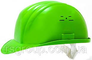 Каска строительная Украина (цвет зелёный)