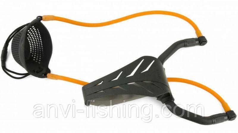 FOX рогатка PowerGuard RangeMaster с методной чашкой
