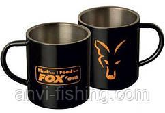 FOX кружка из нержавеющей стали