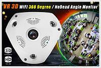 Камера видеонаблюдения 3d рыбий глаз,Панорамная IP Камера  Потолочная CAD 1317 VR CAM 3D Wi-Fi