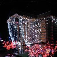 Светодиодный водопад 5896 диодов, 67-строчки, LED, белый