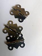 Петля для скриньки з фіксатором 20х17 мм, фото 1